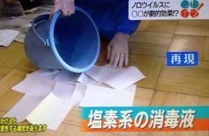 ノロウィルス対策に!渋柿タンニン消毒スプレーノロエース【NHK情報LIVEただイマ12月21日】