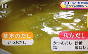 国循レシピ 八方だしの作り方【NHKあさイチ 2月26日】