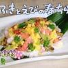 ふきとえびの春ちらし寿司レシピ【NHKきょうの料理3月11日,12日 河野雅子】