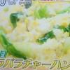シューイチ パラパラチャーハンレシピ【11月23日 水島弘史】